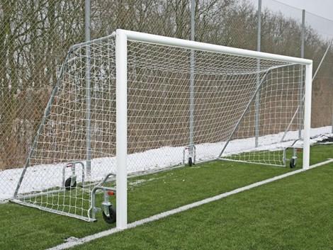 Fotbollsmål Smartlift 9-manna - vit aluminiumram - köp här! e140cad4bb83f