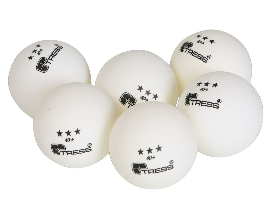 Alle nye Bordtennisbolde 3 stjernet - Bordtennisbolde 6 stk. - Køb online RE47